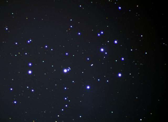 M45 プレアデス星団(スバル)